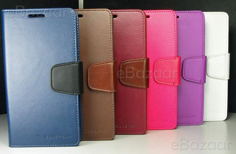Samsung Galaxy S5 i9600 Goospery Sonata Leather Flip Cover Wallet Case