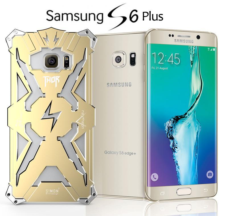 Samsung Galaxy S6 Edge Edge+ Plus Metal Iron Case Cover Casing +Gifts
