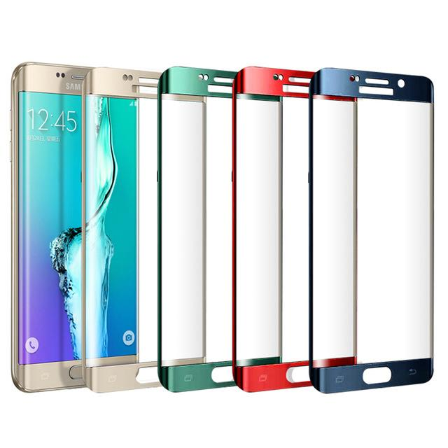 Samsung Galaxy S6 Edge Full Tempered Glass Screen Protector