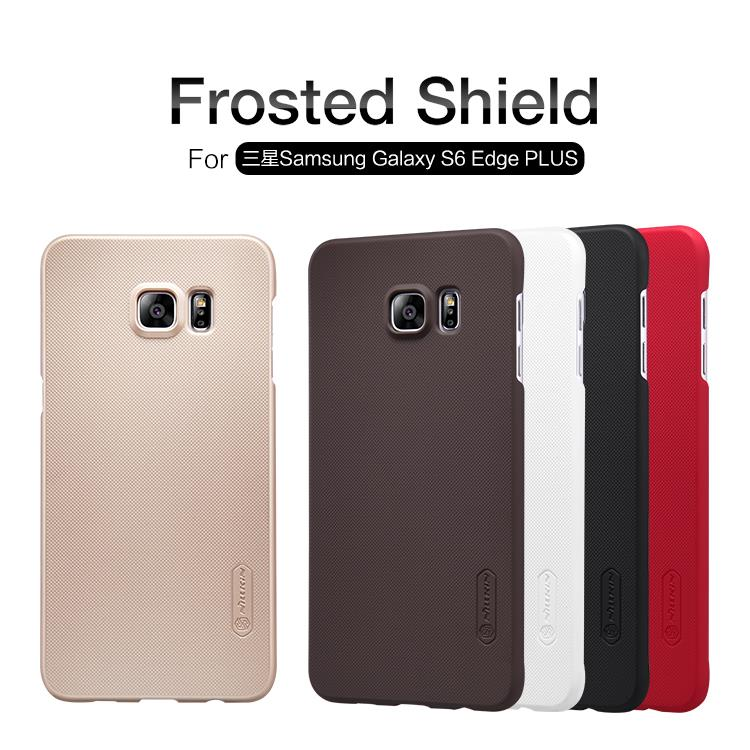 Samsung Galaxy S6 Edge+ Nillkin Super Frosted Shield Cover Sand Case