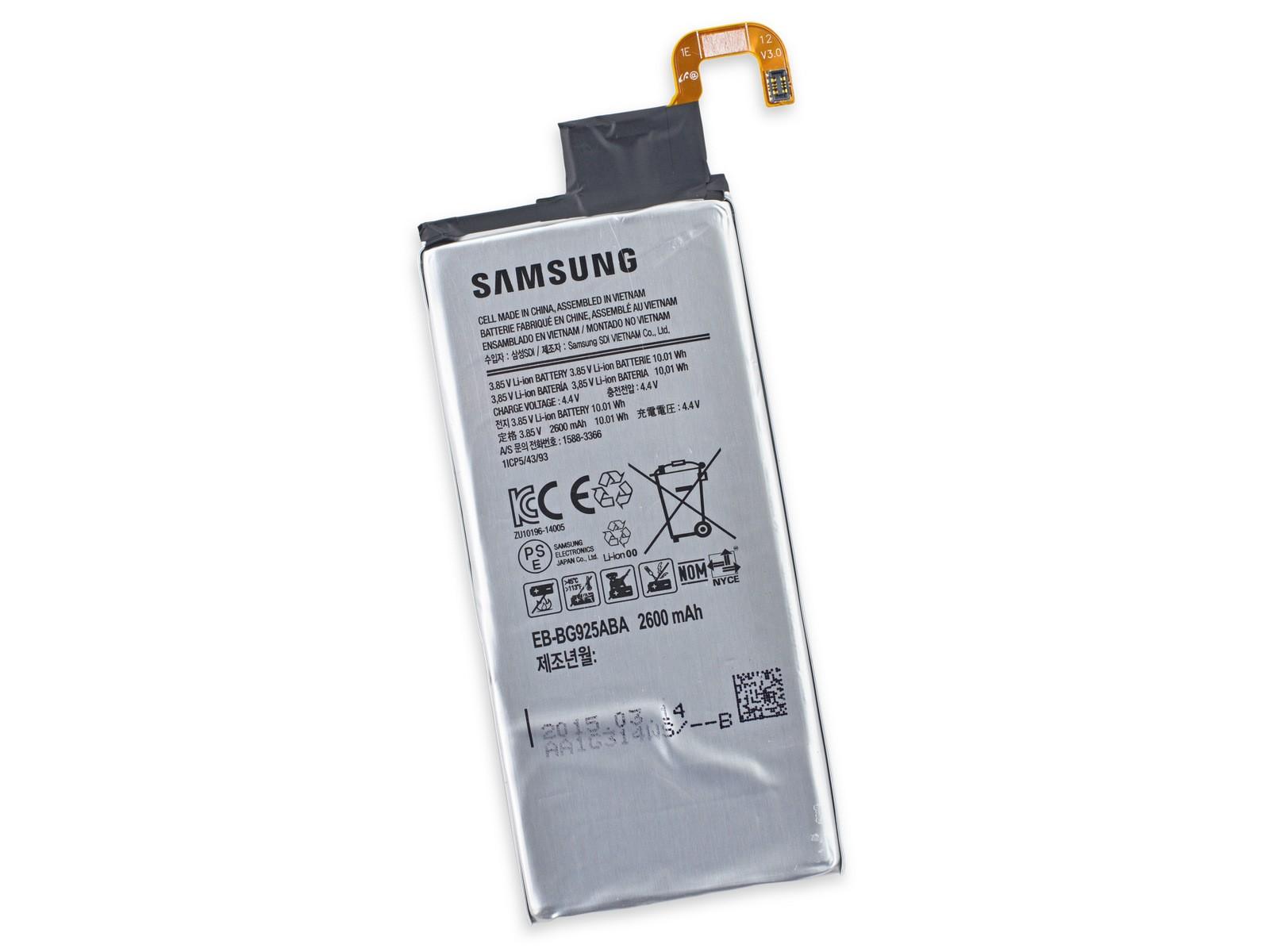 Samsung Galaxy S6 G920 S6 Edge G925 S6 Edge+ Plus G928 Battery