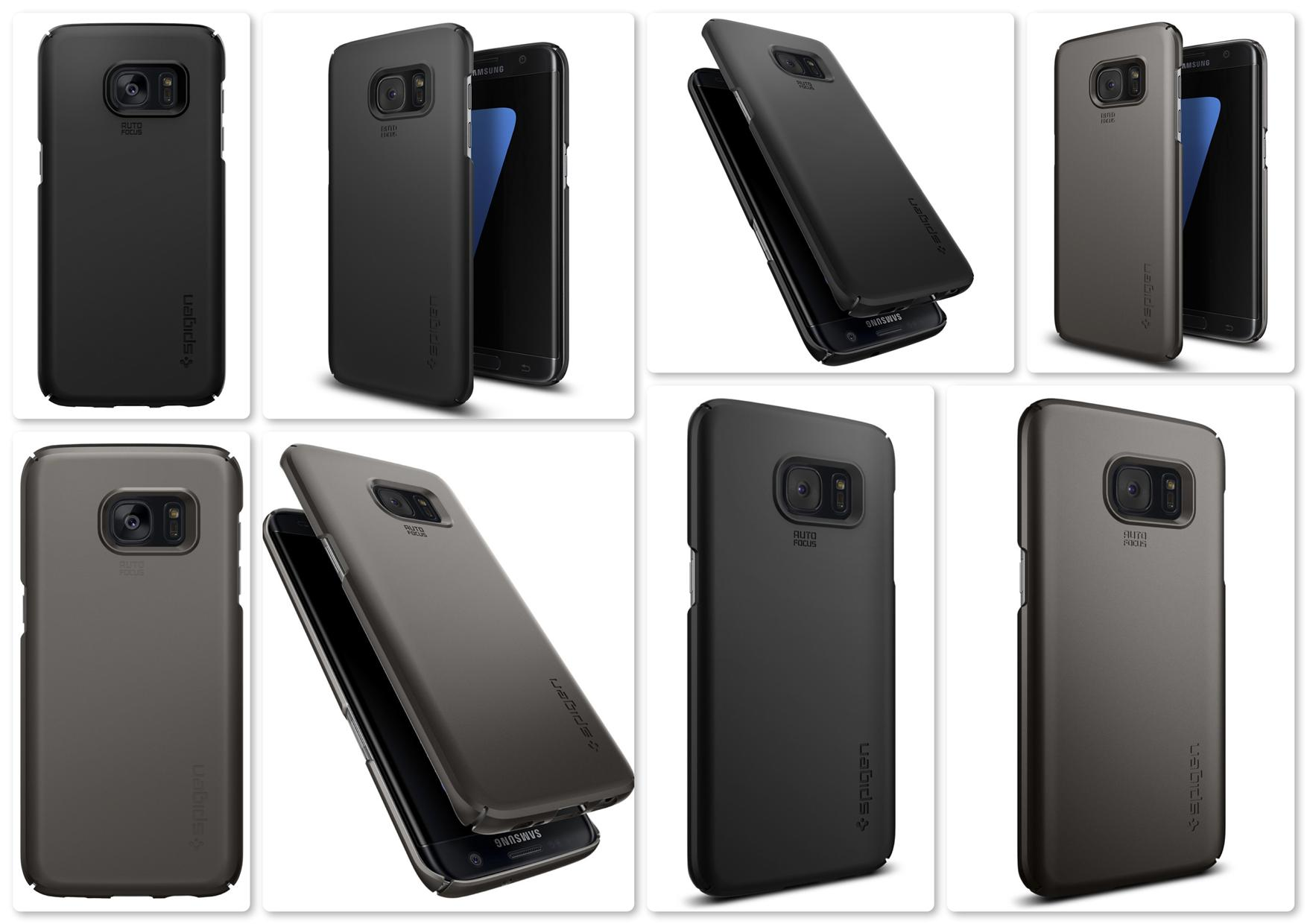 Samsung Galaxy S7 Edge Original Spigen Thin Fit series Back Case
