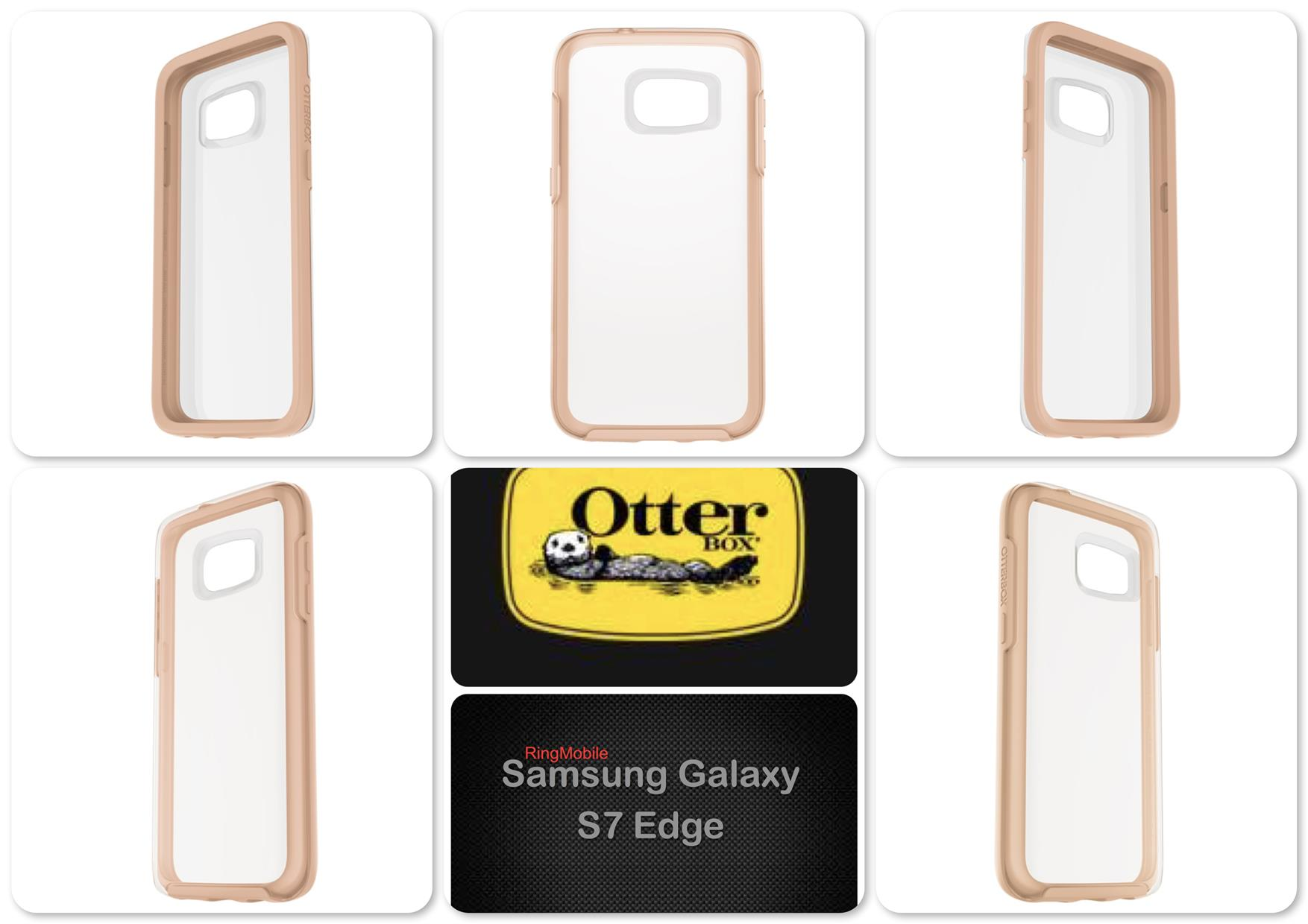 Samsung Galaxy S7 Edge Otterbox Symmetry Clear Series Roasted Crystal