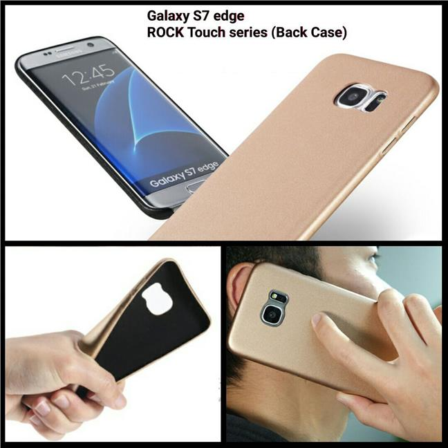 Samsung Galaxy S7 Edge ROCK Touch series (Back Case)