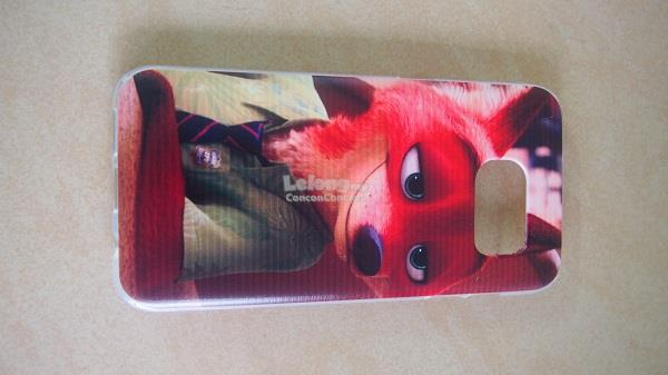 Samsung Galaxy S7 Edge Soft Case Casing [Zootopia]