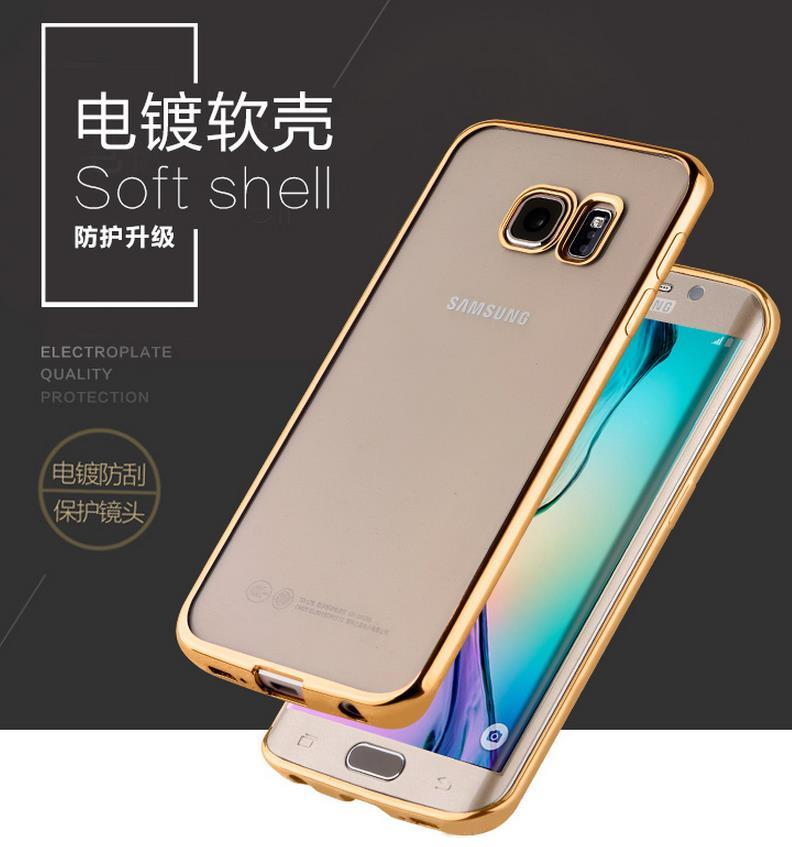 Samsung Galaxy S7 / Edge Soft TPU Shell Case Cover Casing + Free Gift