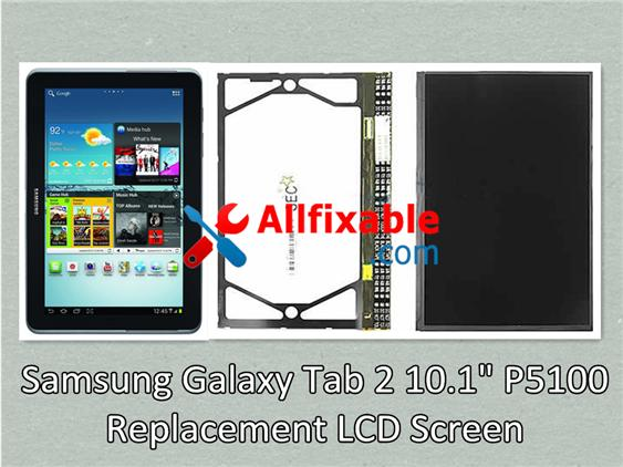 "Samsung Galaxy Tab 2 10.1"" P5100 LCD LED Screen replace"