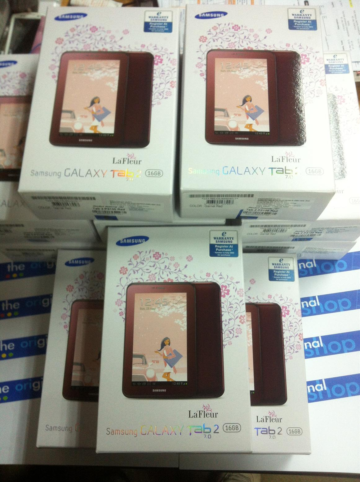 samsung galaxy tab 7 0 lafleur series original sme 1 year warranty