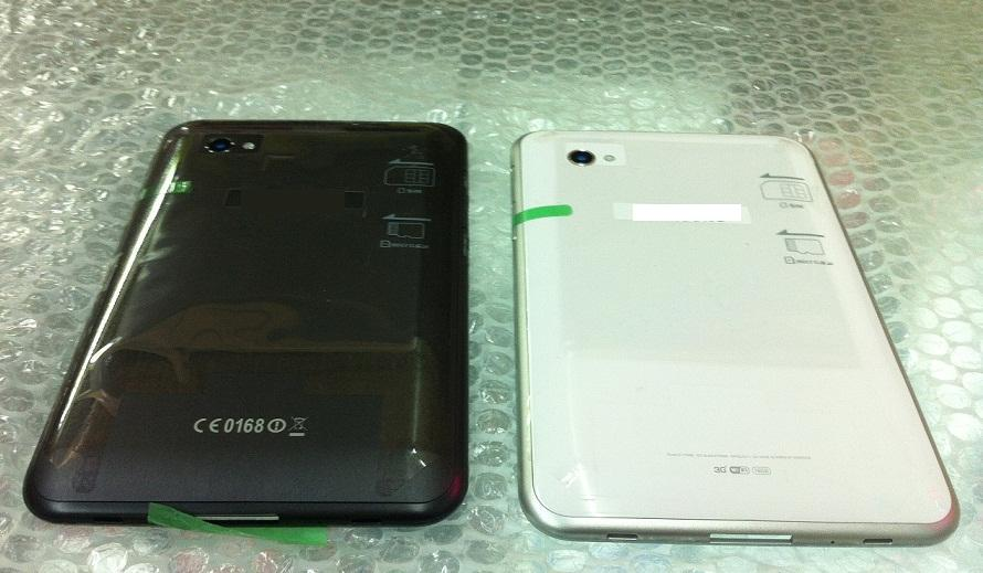 Samsung Galaxy Tab 7 Plus P6200 W / B Housing Battery Back Cover