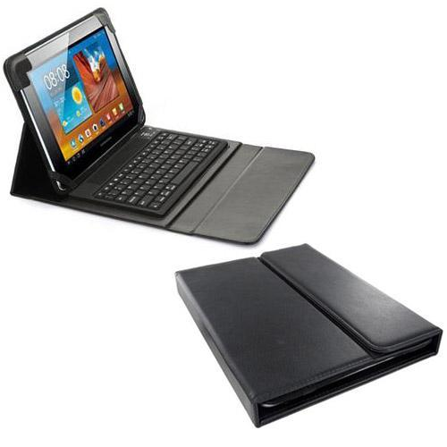 Samsung Galaxy Tab 8.9 P7300 Bluetooth Wireless Keyboard leather case.