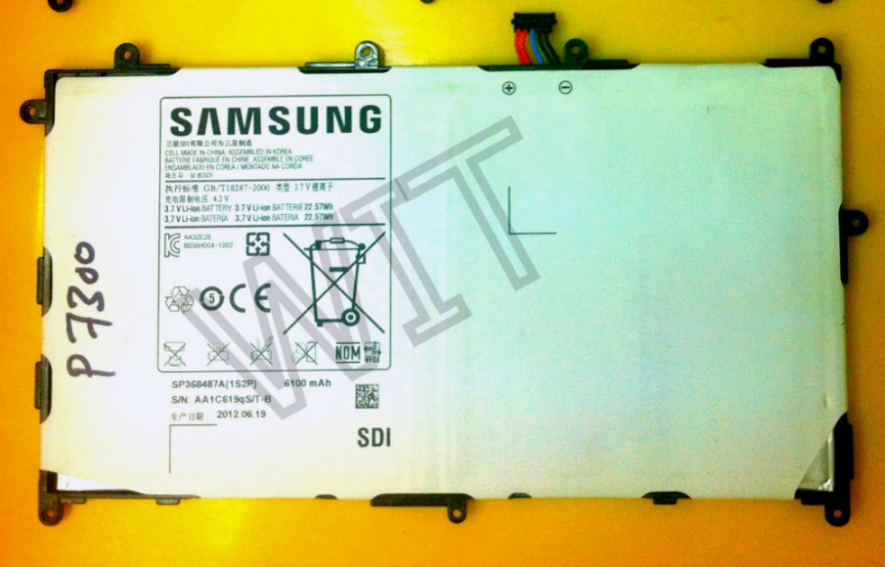 Samsung Galaxy Tab 8.9 P7300 P7310 Battery Sparepart Repair
