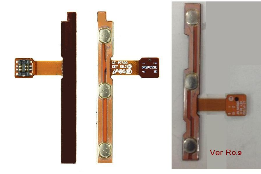 Samsung Galaxy Tab 8.9 P7300 P7310 On/Off & Volume Flex Cable Ribbon