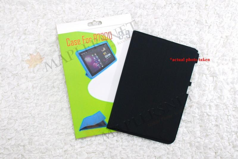 Samsung Galaxy Tab 8.9 P7300 Slim Cover Case Casing [Black]