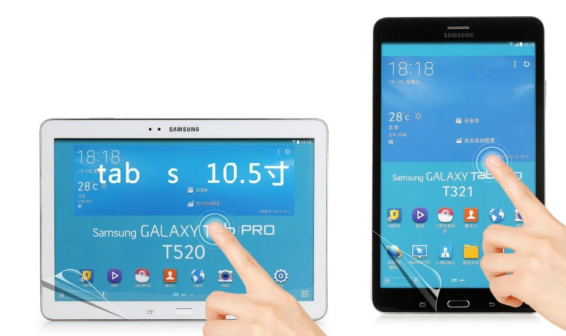 Samsung Galaxy Tab S 8.4 10.5 Clear Matte Diamond Screen Protector SP