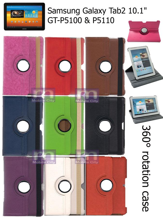 For Samsung Galaxy Tab2 Tab 2 P5100 P5110 with 360� Rotate Function Case Beg
