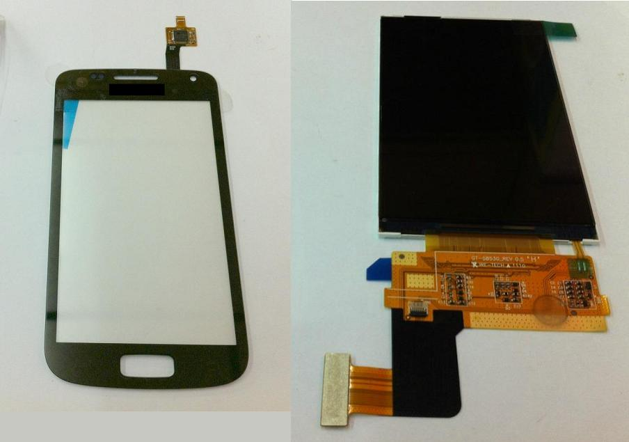 Samsung Galaxy W i8150 Wonder Display Lcd / Digitizer Touch Screen