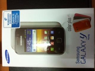 Samsung Galaxy Y [  FREE 4 CASE ],[ FREE 2GB] [SME Warranty]