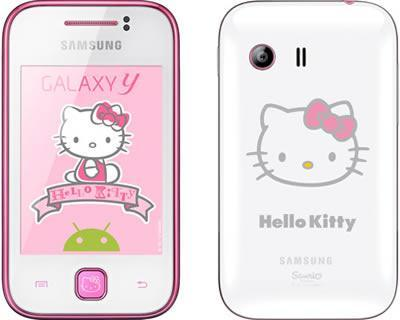 SamSung galaxy Y HELLO KITTY SME ORI FREE CASE AND 2GB CARD (Selangor