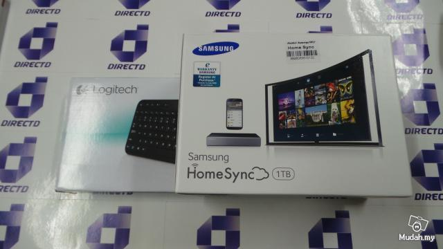 Samsung Home Sync 1TB GT-B9150 Free Wireless Keyboard-K400r
