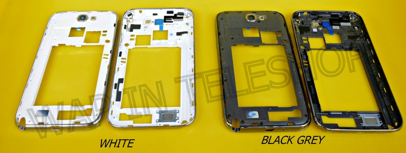 Samsung Note 2 N7100 N7105 Middle Bezel Lcd Touch Screen Frame Housing