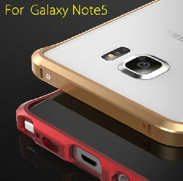 Samsung Note 5 Hard Metal Frame Side Casing Case Cover