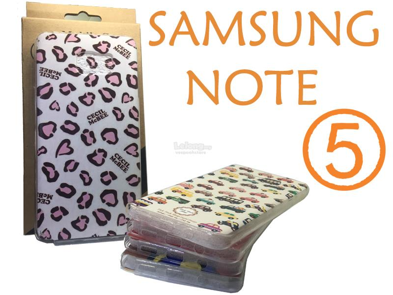 SAMSUNG NOTE 5 ULTRA SLIM FULL COVER TPU Case
