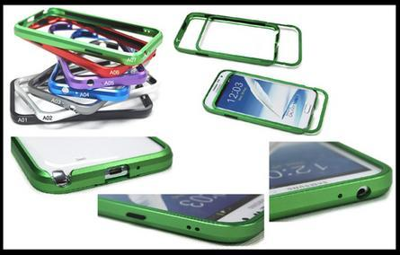 Samsung Note2 N7100 Aluminium Metal Bumper Case Casing (Selangor, end