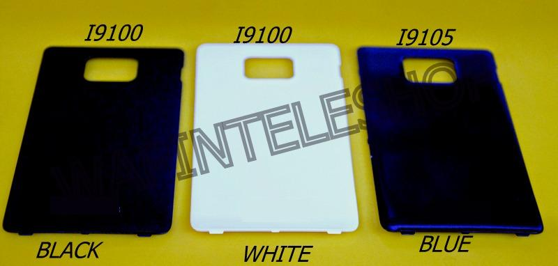 Samsung S2 i9100 S2 Plus i9105 Battery Back Cover Housing B/W/Blue