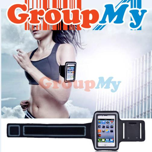 Samsung S2 S3 S4 Fluorescent Reflective Sports Armband Mobile Phone Ca