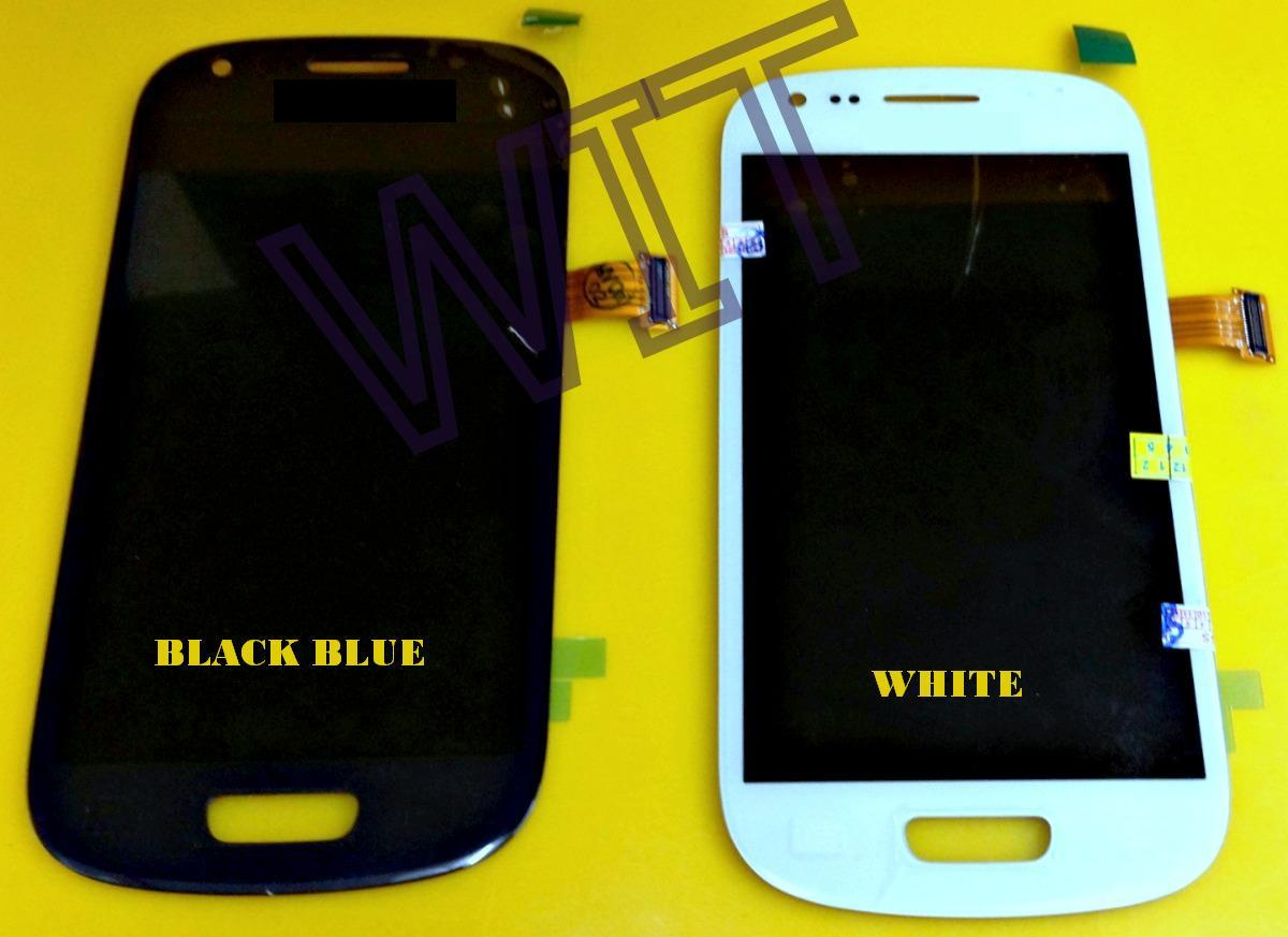 Samsung S3 Mini i8190 Blue/White Lcd Display & Digitizer Touch Screen
