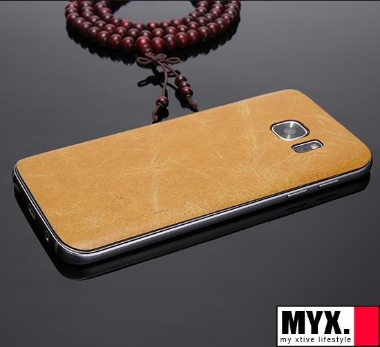 Samsung S7 Leather Thin Metal Casing Case Cover