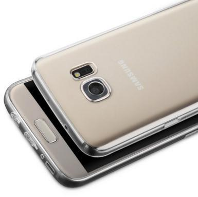 Samsung S7 Silicone Transparent Thin Clear Casing Case Cover