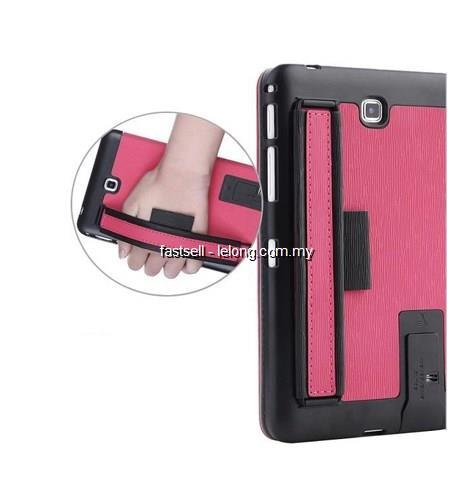 Samsung Tab 4 7.0 Case Casing Cover handle flip stand feature