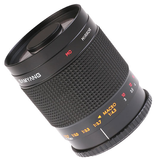 Samyang 500mm f/8 MC IF Mirror Lens for Canon EF- Free Shipping!!!!!