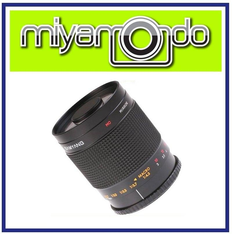 NEW Samyang 500mm MC IF F/8 Telephoto Mirror Lens For Canon Mount