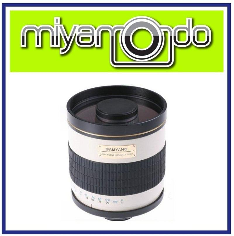 NEW Samyang 800mm MC IF F/8 Telephoto Mirror Lens For Canon