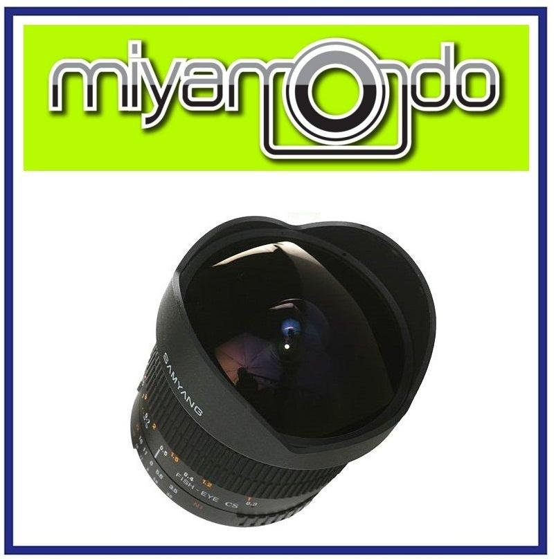 NEW Samyang 8mm f/3.5 Fisheye Lens For Nikon Mount