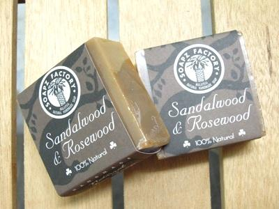 SandalWood Face Soap 檀香洗面皂