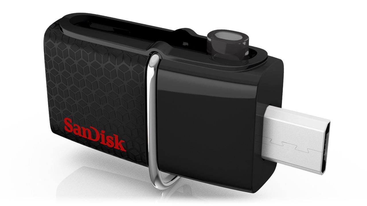 SANDISK 32GB ULTRA DUAL USB 3.0 FLASH DRIVE(130MB/S)