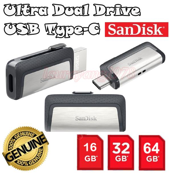 Sandisk Ultra Type-C Dual USB 3.1 Flash Drive for OTG Samsung XiaoMi