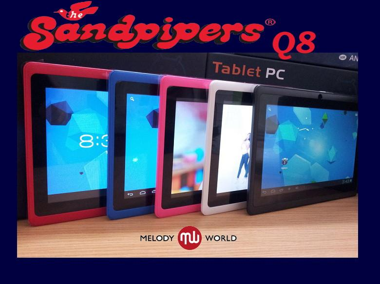 SANDPIPERS Q8  [4GB] TABLET ALLWINNER A13  CAPACITIVE