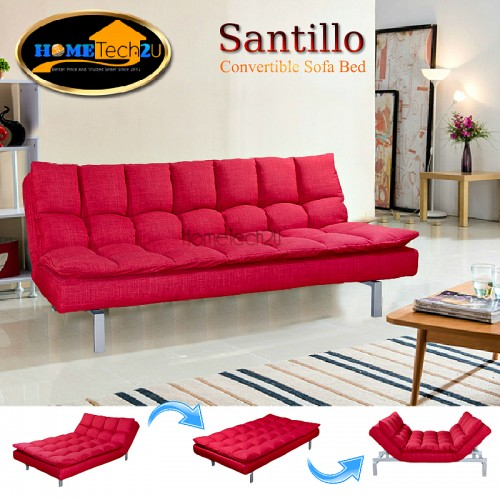 Santillo queen size fabric sofa bed end 7 25 2019 2 28 pm for Sofa bed penang