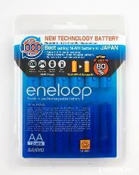 Sanyo eneloop - NiMH rechargeable battery - 12AA x5 set