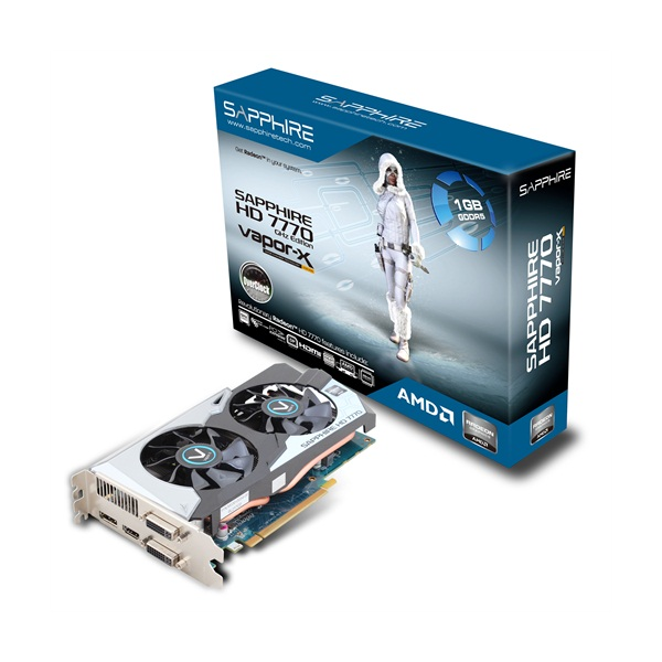 Sapphire ATI HD7770 Vapor-X 1GB DDR5 128bit PCI-E Graphic Card