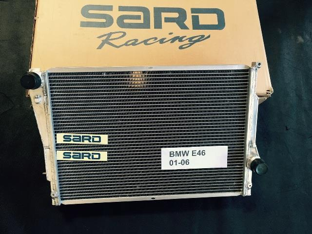 Sard radiator BMW E46 98-06 & Z4 03-08 - Manual Transmission