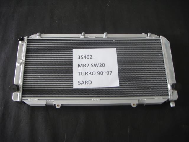 SARD radiator Toyota MR2 Turbo SW20 1990- 1997