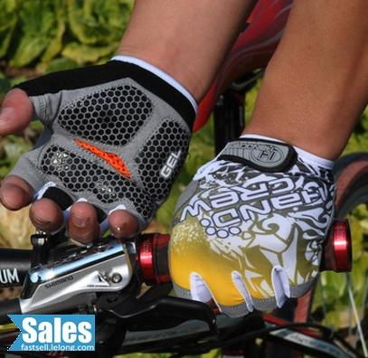 Sarung Tangan Berbasikal Cycling Glove Bicycle Separuh Jari