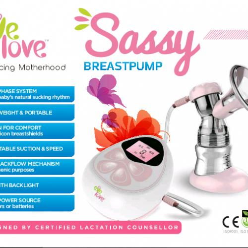Sassy Breastpump (eve love)