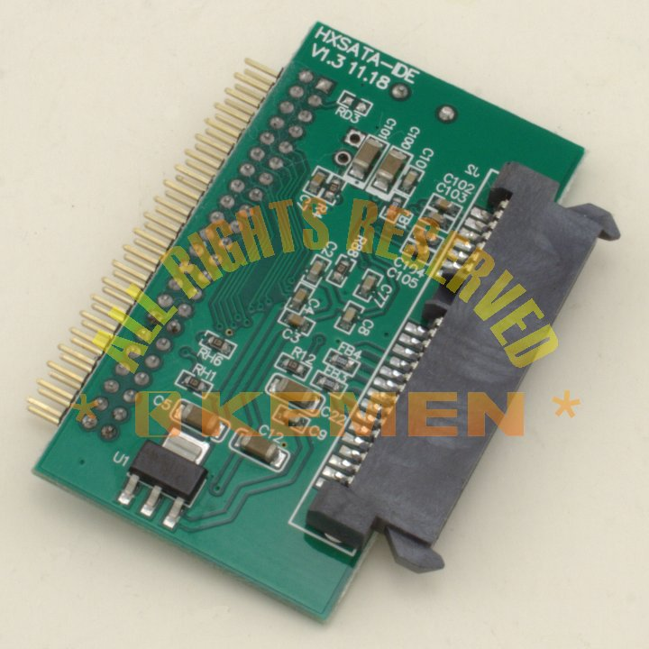 SATA to 44 Pin IDE Converter Adapter
