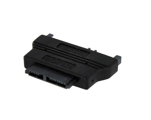 SATA Slimline 13p Female to SATA (7+15)p Male Converter